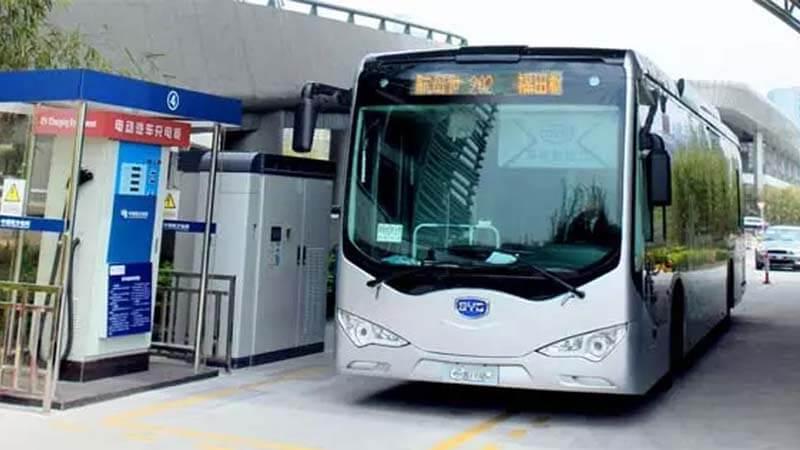 Bus Bertenaga Listrik di China