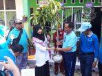 Dihadiri Jajaran Dinas Pendidikan Kota Makassar, SDN Kompleks Sambung Jawa Adakan Gerakan Menanam Pohon
