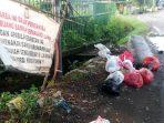 Jangan Ditiru, Pemandangan Salah Satu Tempat Sampah Jadi-Jadian di Makassar