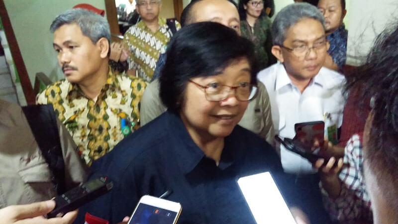 Menteri LHK, Siti Nurbaya