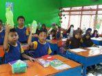 Murid SDN Borong Makassar
