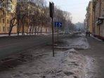 Salju hitam yang menyelimuti Rusia