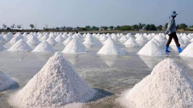 Tumpukan garam