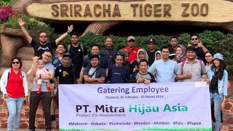 Gatering PT Mitra Hijau Asia di Thailand