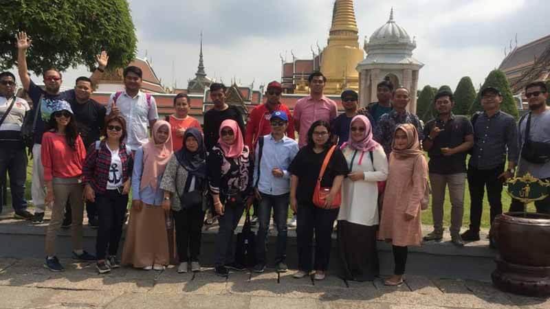 Karyawan PT Mitra Hijau Asia di Thailand