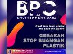 Peduli Lingkungan, Brorivai Center Inisiasi Gerakan Petisi 'Stop Buangan Plastik ke Laut'