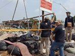 Penyidik KLHK Menyegel Tempat Pembuangan Sampah Ilegal di Bogor
