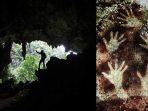 Misteri Lukisan Tapak Tangan di Gua Prasejarah Pattunuang