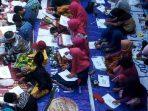 Suasana lomba SD Negeri Borong