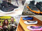 Keren, Sepatu-Sepatu ini Berbahan Sampah Plastik Daur Ulang