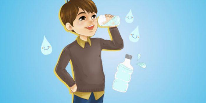 Air Putih Mampu Menjaga Kesehatan Anak, Begini Penjelasannya!