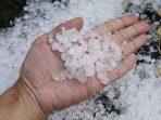 Hujan Es, Peristiwa yang Lazim di Musim Pancaroba?