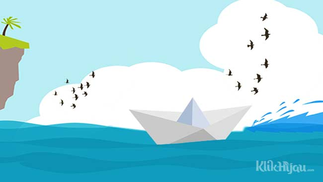 Perahu Kertas Lepas