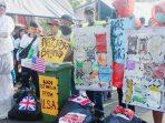 Saat Para Pegiat Lingkungan di Karawang Serukan Tolak Sampah Impor