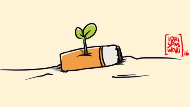 Puntung Rokok dan Dampak Buruknya Bagi Pertumbuhan Tanaman