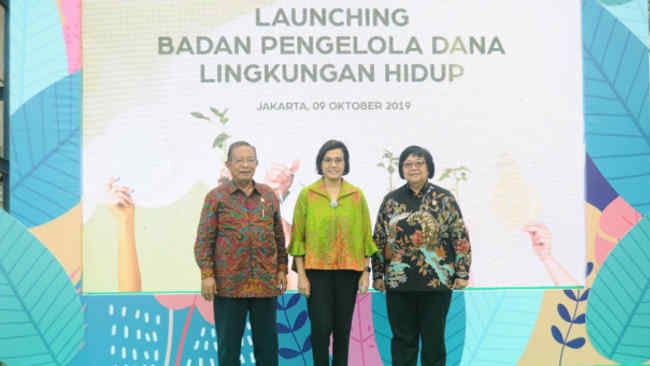 Sah, Indonesia Kini Miliki Badan Pengelola Dana Lingkungan Hidup