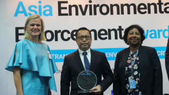 3 Penghargaan Tingkat Asia Jatuh ke Tangan Gakkum KLHK