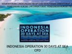 Operasi 30 Hari di Laut Tahun Ini Libatkan 58 Negara