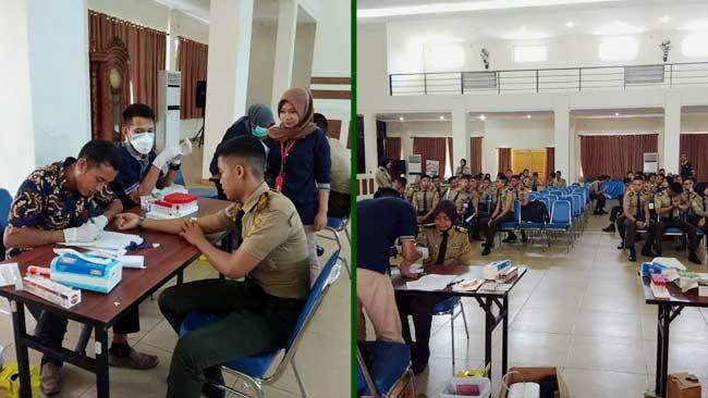 SMK Kehutanan Negeri Makassar Dukung Gerakan Rimbawan Anti Narkoba