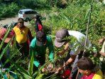 Jumat yang Beda, Polsek Sinjai Barat Mengganti Senam dengan Tanam Pohon