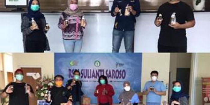 Tim milenial melawan corona
