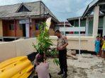 Mengapresiasi Obsesi Kapolsek Pulau Sembilan Hijaukan Pulau Kambuna