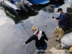 Hal-Hal yang Menyertai Tumpahan Minyak di Pantai Losari