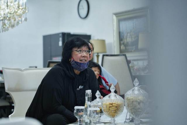 Menteri Siti Gelar Halal Bihalal Virtual, Para Dubes Apresiasi Kinerja KLHK