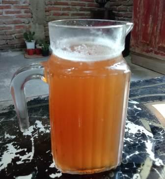 Minuman sari bambu