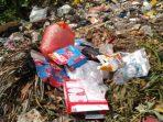 Volume sampah plastik