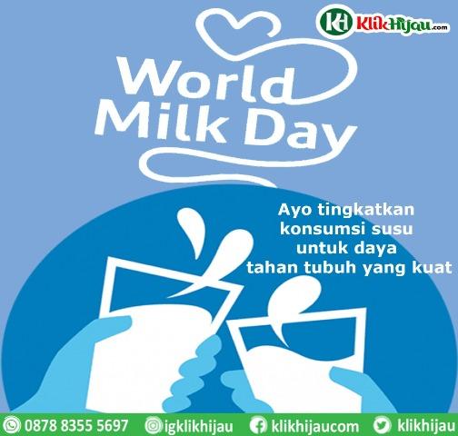 Hari Susu Sedunia dan Ketergantungan pada Susu Impor