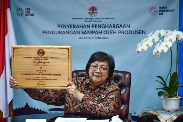 KLHK Beri Penghargaan untuk Bisnis dengan Pengolahan Sampah Plastik Terbaik
