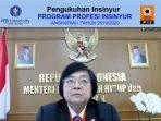 Menteri Siti Kiprah Profesi Insinyur Indonesia harus Merespons Persaingan Global