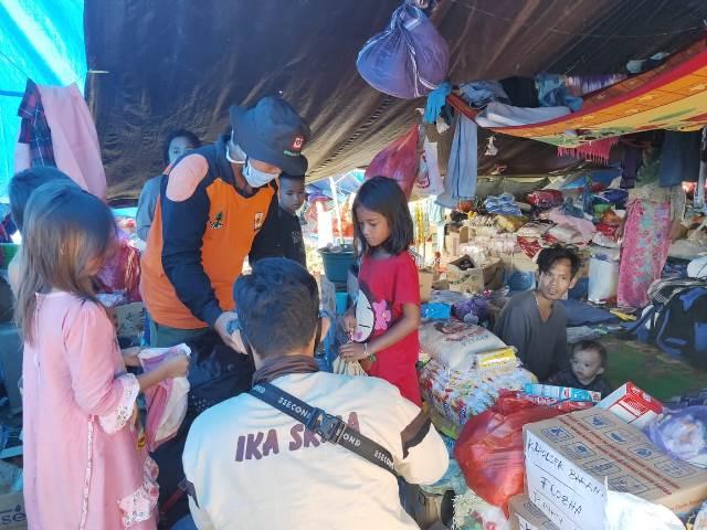 Peduli Banjir Masamba, UPT KLHK Distribusi Bantuan dan