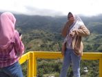 Spot Instagramable, Kolam Renang di Atas Gunung sedang Dibangun di Sinjai Borong