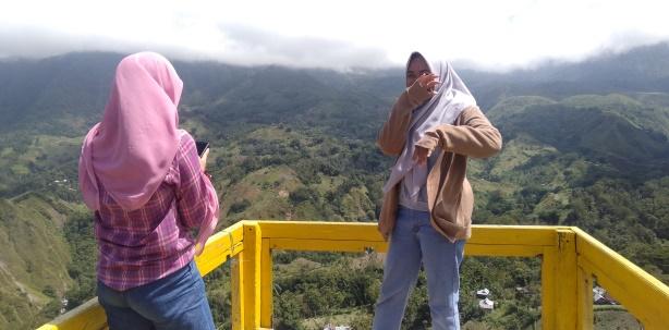 Salah satu spot menarik di lokasi wisata yang akan dibangun di desa Bonto Tengnga