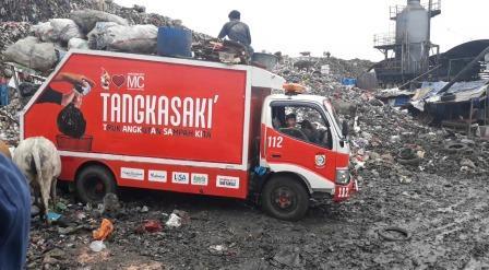 Selain Berubah Jadwal Pengangkutan, Truk Sampah di Makassar Juga Jadi Bus Wisata