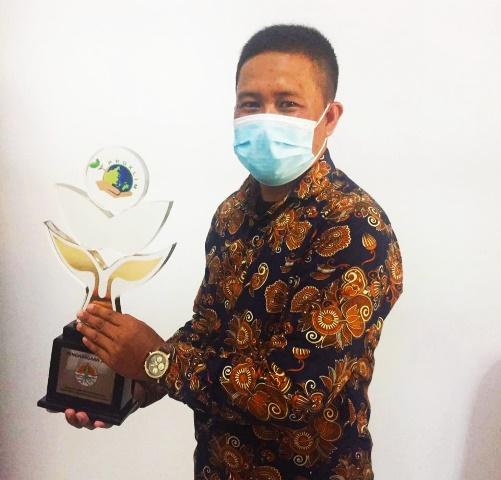 Mantul, Rumah Koran Terima Penghargaan Kampung Iklim Utama 2020 dari KLHK