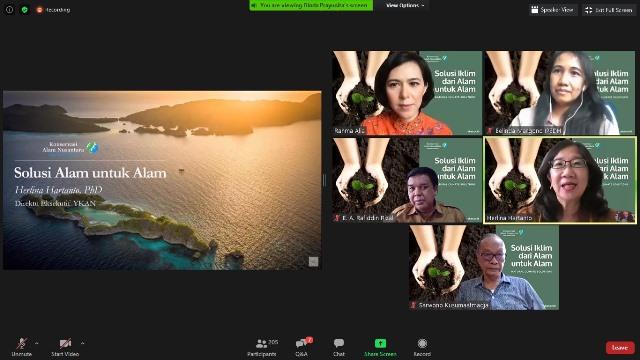 Solusi Iklim Alami untuk Mitigasi Perubahan Iklim Indonesia