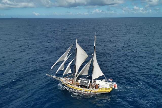 Kapal bermuatan seni dan budaya yang diluncurkan pertama kali di Belanda pada September 2019