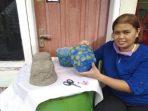 Ide Kreatif IRT di Makassar, Sulap Sampah Popok Bekas Jadi Pot Bunga