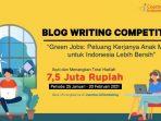 "Coaction Menggelar ""Blog Writing Competition"" Tema ""Green Jobs"", Ini Syaratnya!"
