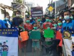 Karang Taruna Karang Anyar Jakpus Gelar Gerakan Pungut Sampah di HPSN 2021