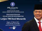 Cerita Doni Monardo Perihal Limbah Merkuri di Perairan Maluku Saat Jabat Pangdam Pattimura