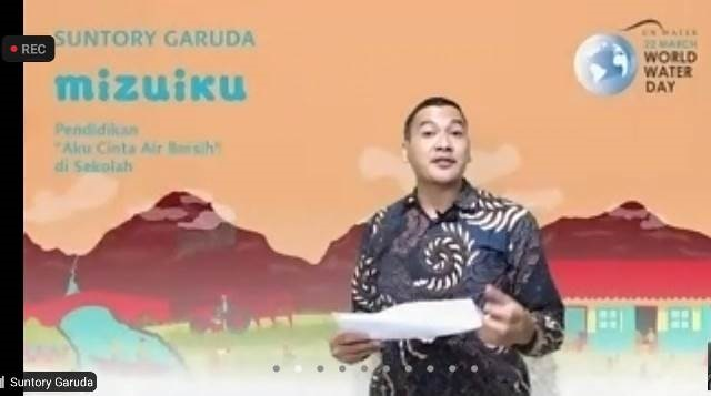 Suntory Garuda Beverage Ramaikan Momen Hari Air Sedunia 2021