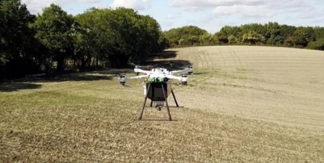 Menanam Kembali Hutan yang Gundul dengan Drone