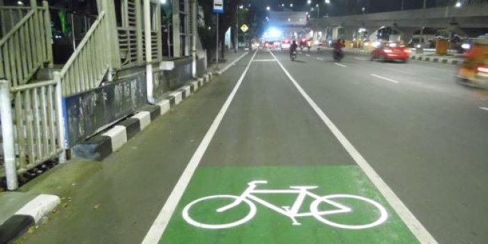 Mengintip Penerapan Jalur Hijau Sepeda di Makassar