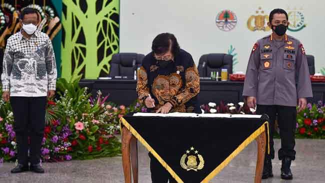 Siti; Penegakan Hukum Harus Dilakukan Secara Bersama