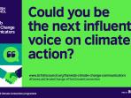 British Council Mencari Komunikator Ilmu Iklim Terbaik Melalui Kompetisi Global