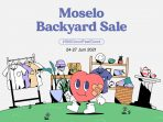 Moselo Gelar 'Backyard Sale 2021', Apresiasi Kualitas Karya Kreator Lokal